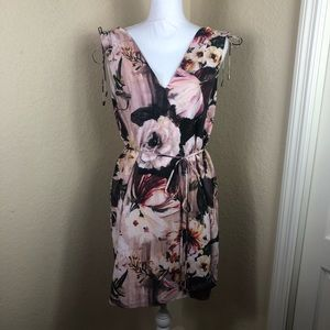Like new Haute Hippie floral mini dress